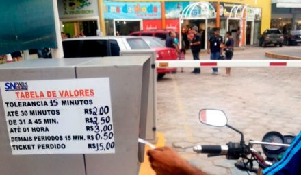 Os shopping centers entraram na justiça e garantiram o direito de cobrar pelo estacionamento