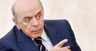 Chaanceler brasileiro, Jose Serra, confirma o afastamento